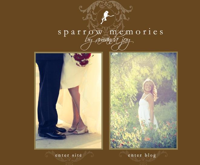 Sparrow Memories Flash Website