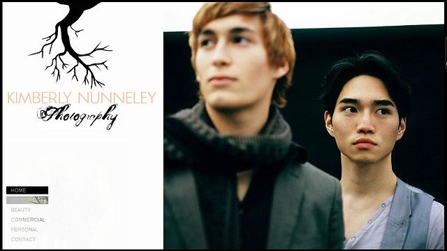 Kimberly Nunneley Photography website