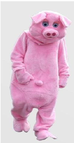 Wix Editor Gone Mad - Pig Costume