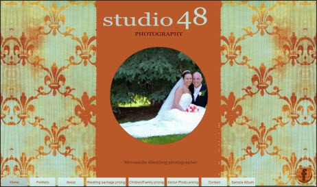 Studio 48 Photography Website