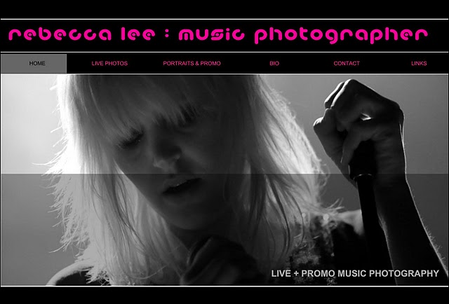 Niche photography - music