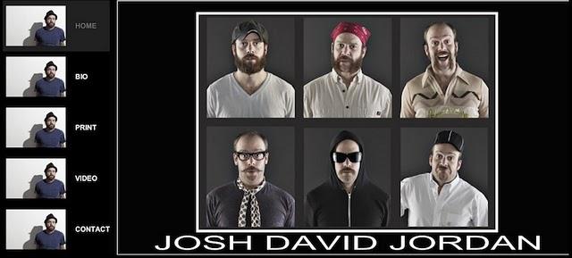 Josh David Jordan website was created with a Wix.com Flash website