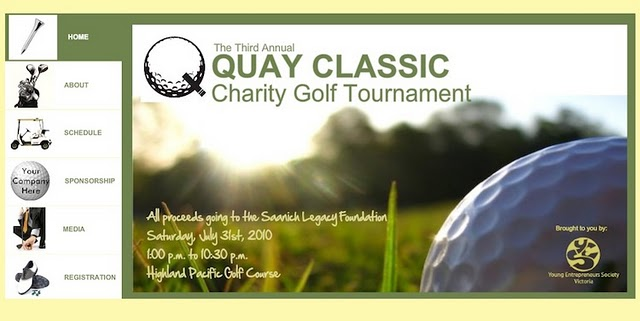 Quay Classic's website was created with a Wix.com Flash template