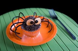 Araña para comer