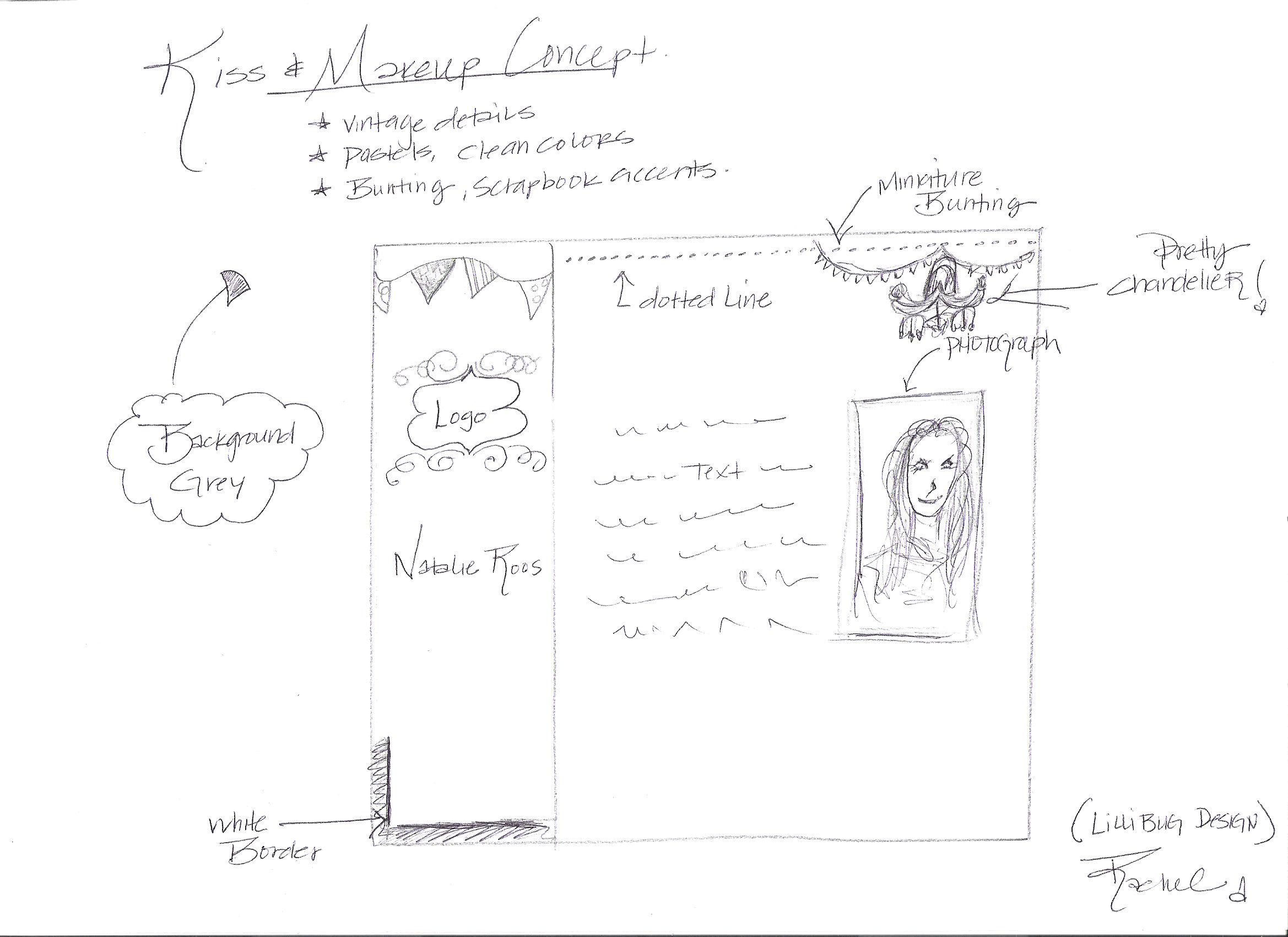 Rachel's Sketch