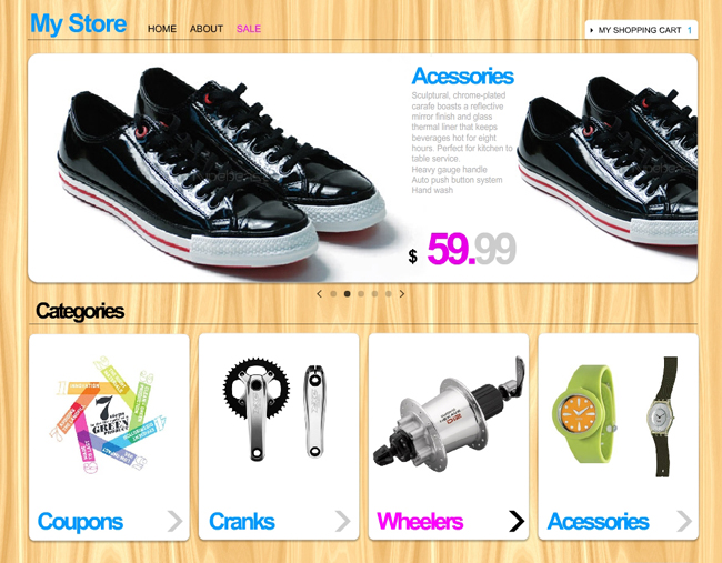 New and Improved Product Page for Wix.com's eCommerce Package!