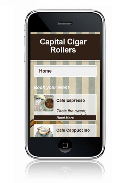 Wix Mobile Showcase Capital Cigar Rollers