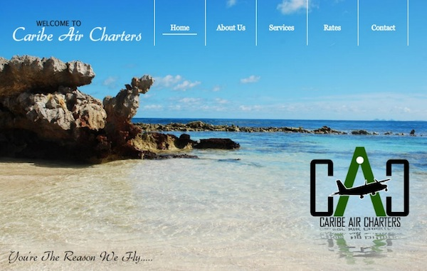 Created with business website template