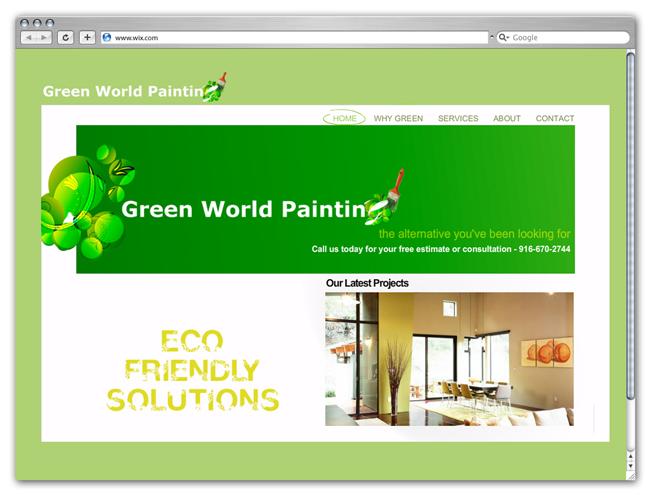 Green Wix Websites
