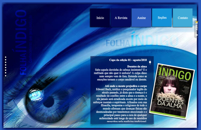 Extreme Website Makeovers: Folha Indigo