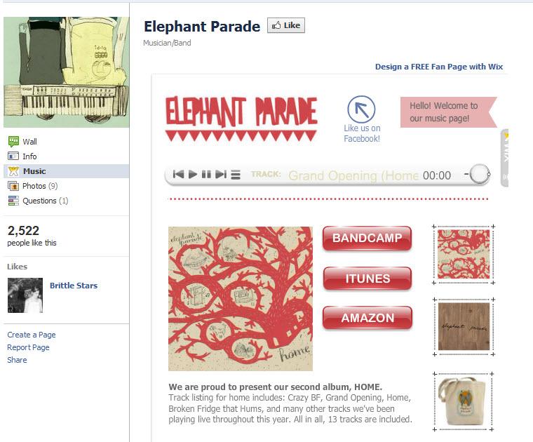 Elephant Parade Sitio en Facebook