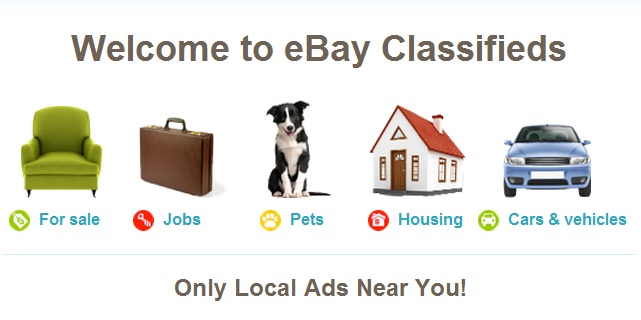 Local Jobs on eBay Classifieds