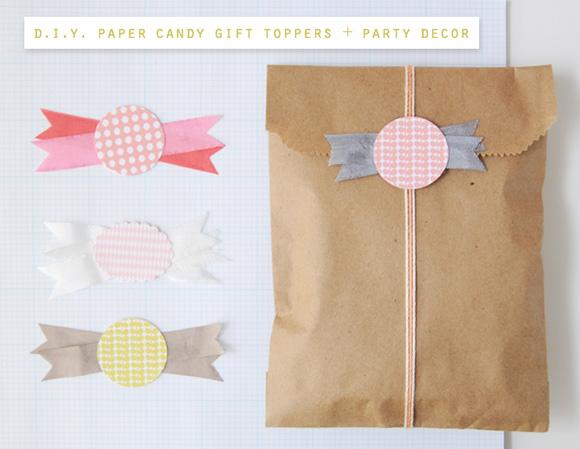 Paper candies