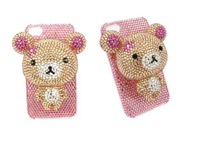 Swarovski Teddy Bear case