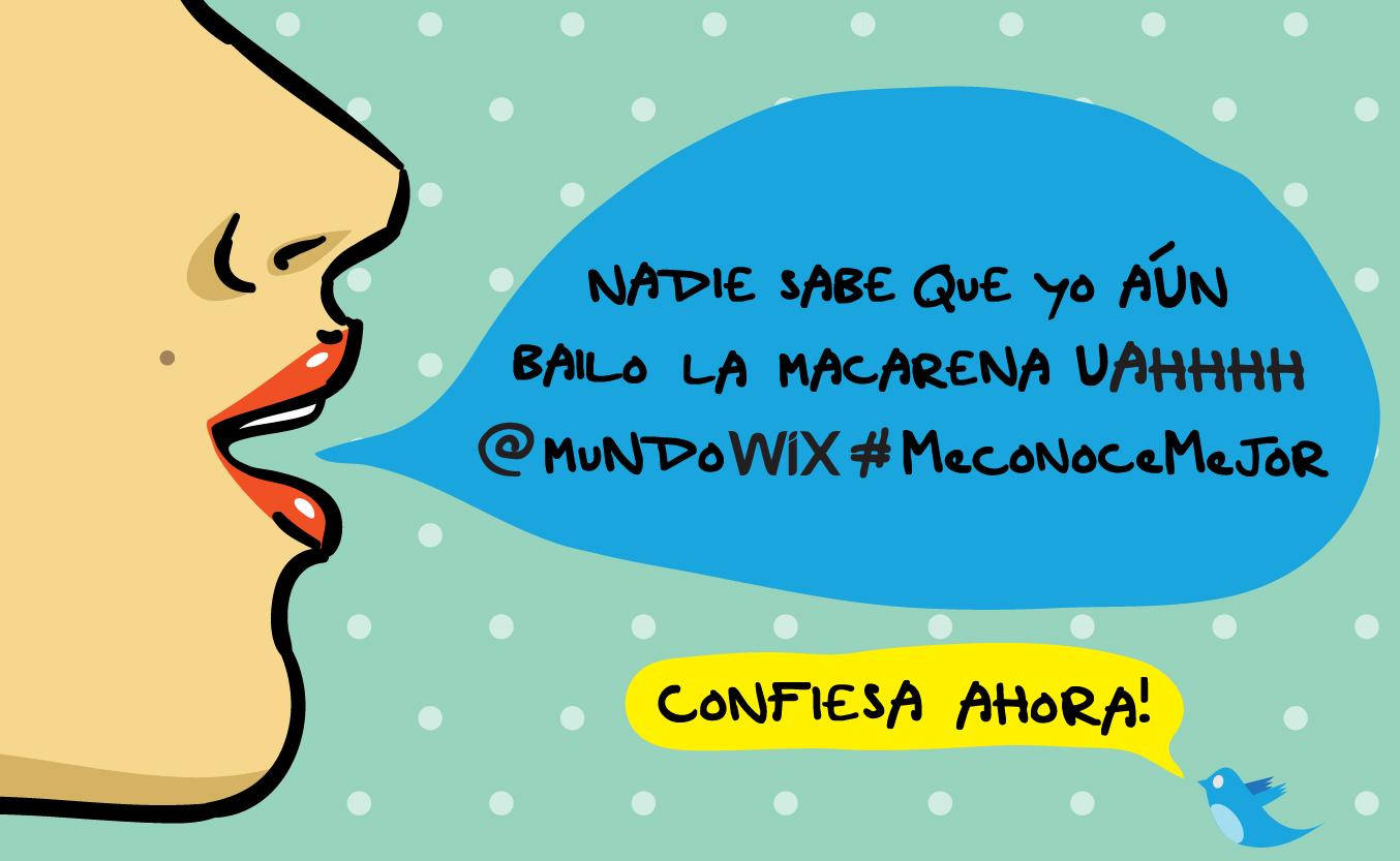 Confiesa tus secretos a @MundoWix