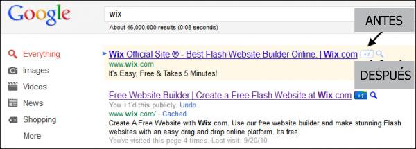 Busqueda y botón de Google+1