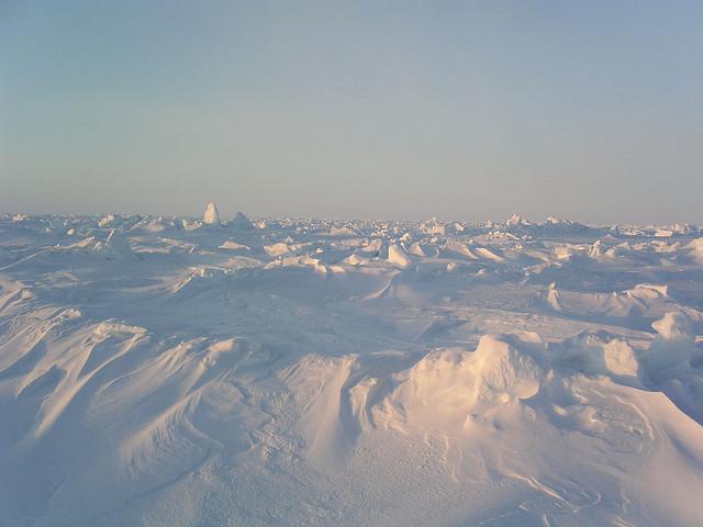 Impactante Polo Norte