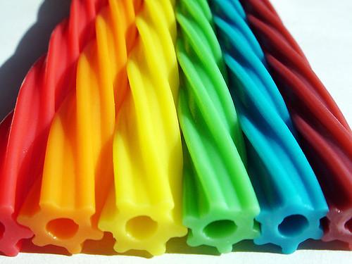 Caramelos arco iris