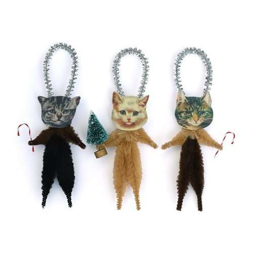 Christmas Cat Ornaments