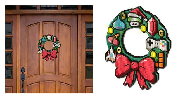 8-Bit-Holiday-Ornament
