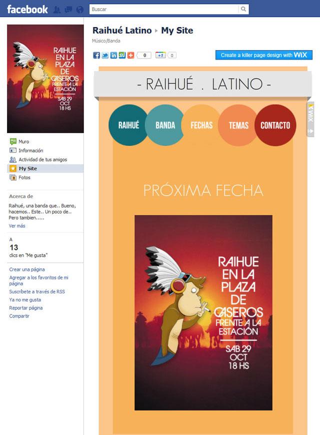 Raihué Latino