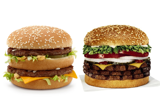 big mac vs whopper essay Anyway, yeah, the whopper is superior, but the big mac is one of mcdonald's worst sandwiches whopper vs quarter-pounder would have been a better comparison surely, quarter pounder is ownage.