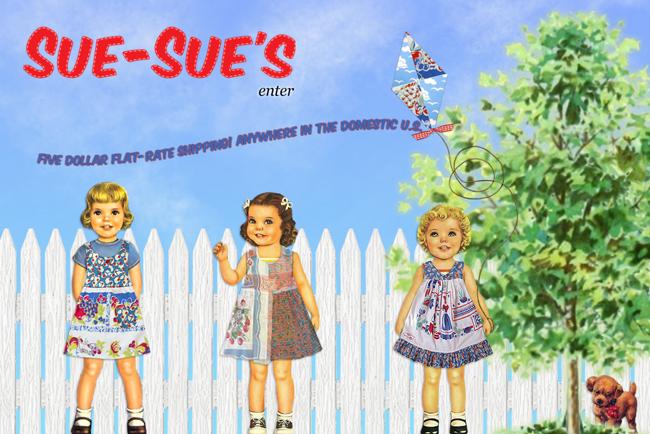 Sue Sues website