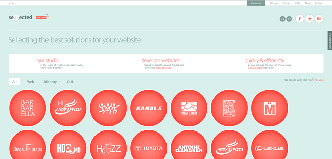 sellected website