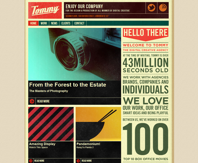 this is tommy website
