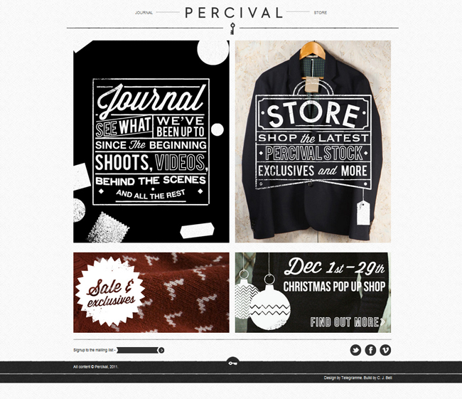percival website