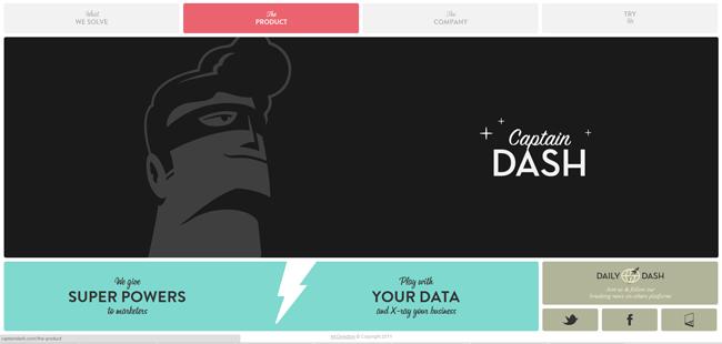 captain dash website