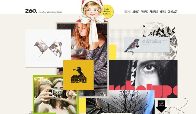 zoo advertising website
