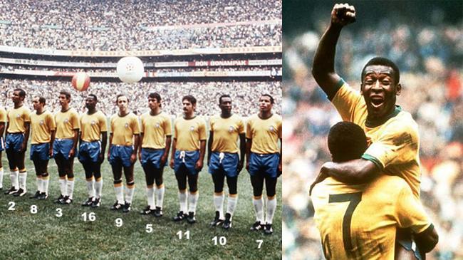 Brazil National Football Team & Pelé