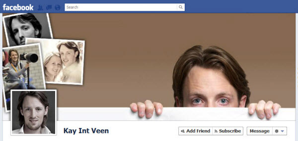 Kay Int Veen FB Timeline design