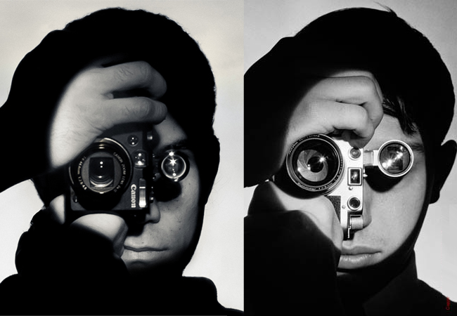 The Photojournalist 1951 Remake by Willmer Perez Ronderos