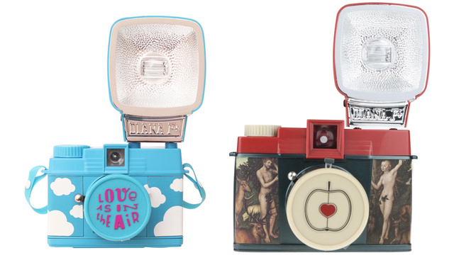 Limited Edition Valentine's Day Lomography Cameras