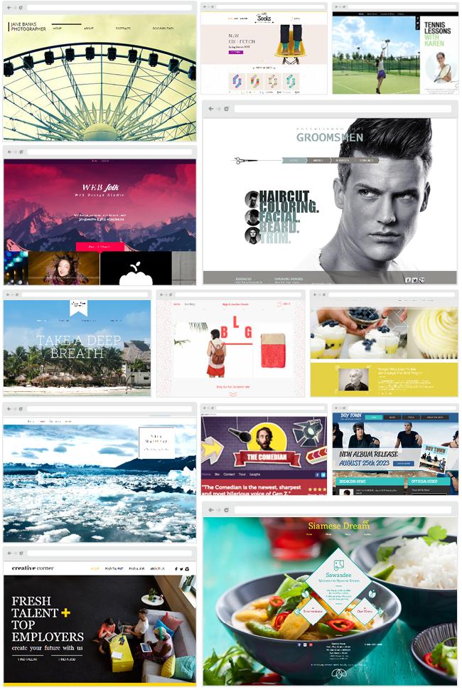 wix unveils html5 website builder. Black Bedroom Furniture Sets. Home Design Ideas