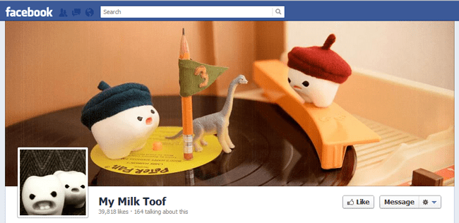My Milk Toof Fb cover