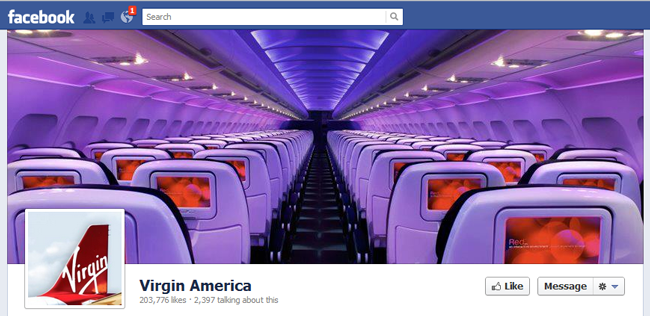 Virgin America FB cover