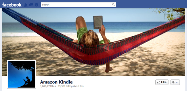 Amazon Kindel Fb cover