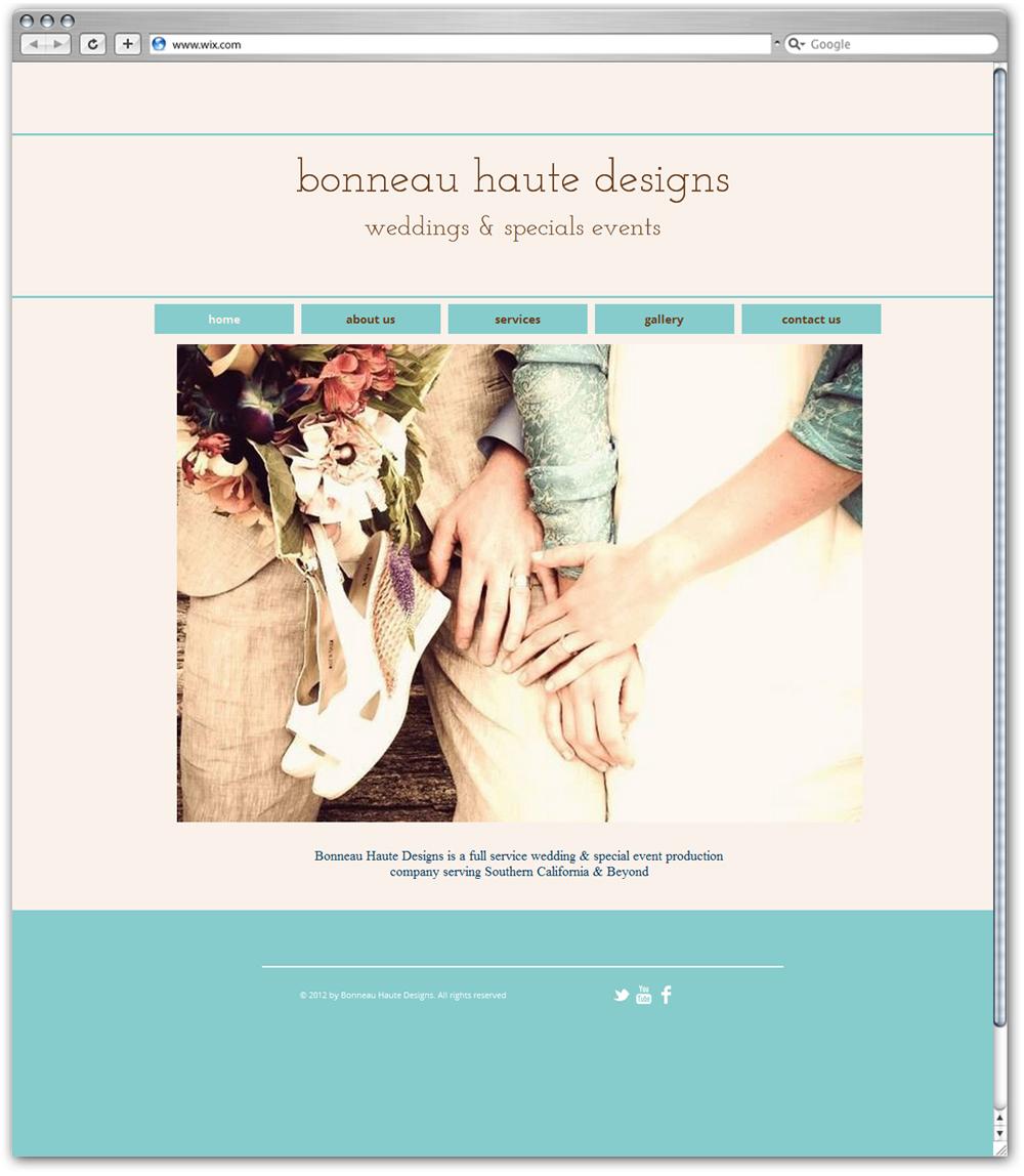 Bonneau haute designs