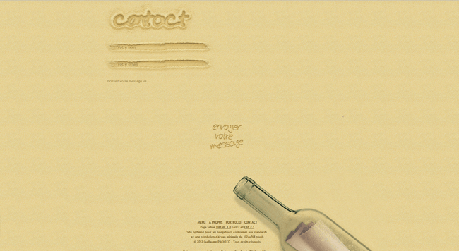 Beautiful Contact Pages