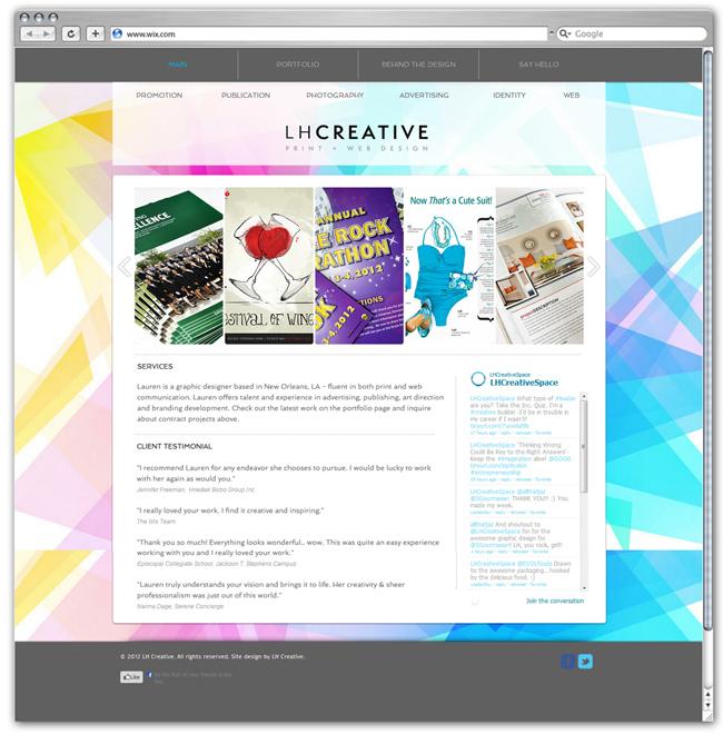 LH creative space BY Lauren Hampton