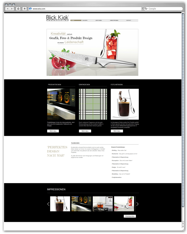 Blick Kick   Graphic, Photo & Product Design
