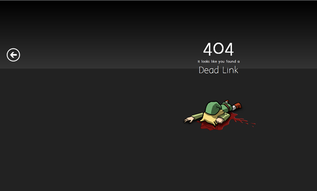 Showcase of Creative 404 Pages