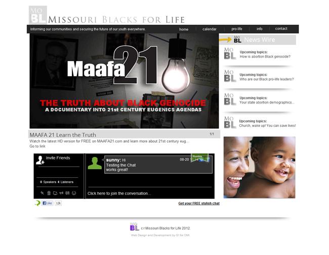 Missouri Blacks for Life - Rumbletalk App