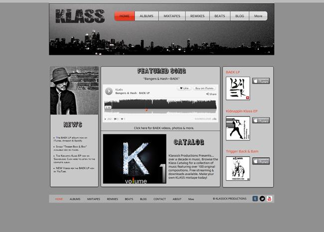 Klass SoundCloud app