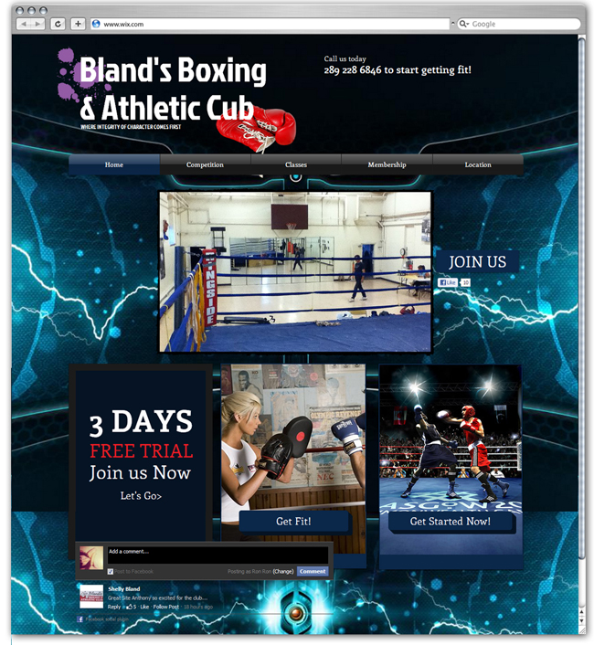Bland's Boxing & Athletic club