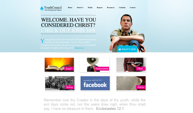 Youth Council Free Presbyterian Church