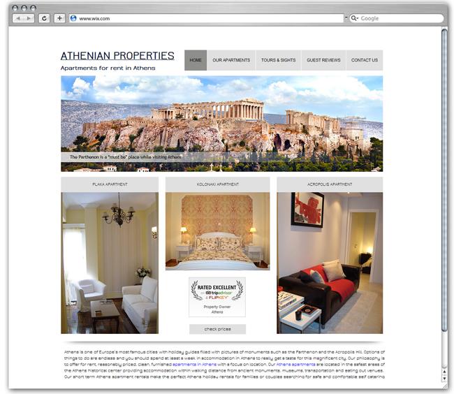 Athenian Properties   Greece